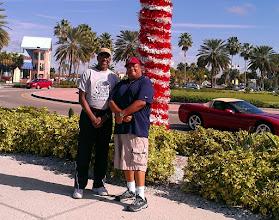 Photo: Leonard & Ron! 12/25/11