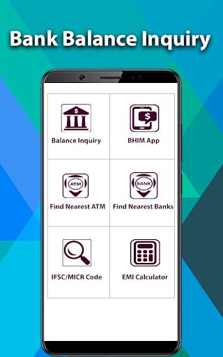 ATM Balance Check All Bank AC Balance Enquiry by Bazuka Apps