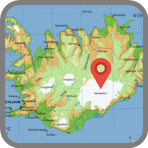 Map of iceland android apps on google play map of iceland gumiabroncs Gallery