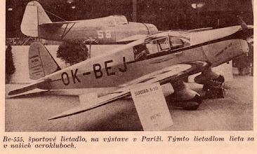 Photo: Be-555 Superbibi / OK-BEJ  photo - Slovenské krídla 5 / 1939