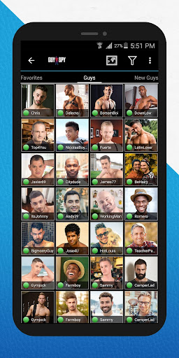 GuySpy: Gay Dating and Chat App 4.8.3 screenshots 1
