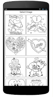 Coloring Book Of Love - náhled