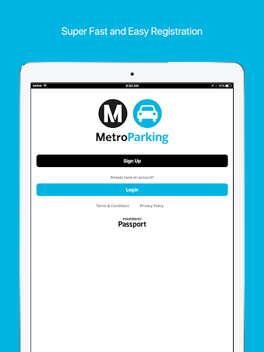 MetroParking - screenshot