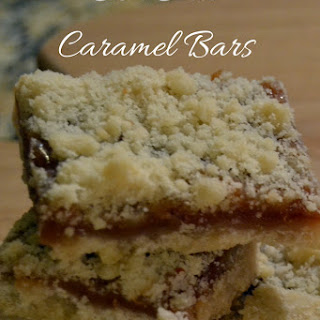 Sea Salt Caramel Bars