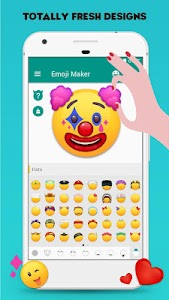 Emoji Maker! Personalize Moji! screenshot 0