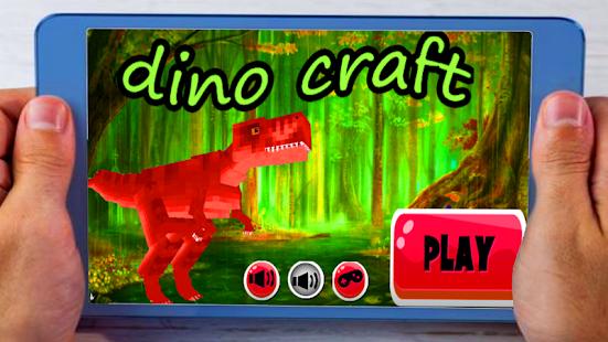 Dino Jurassic Craft game - náhled