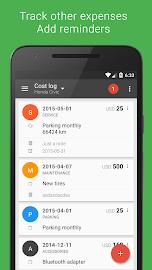 Fuelio: Fuel log & costs Screenshot 3