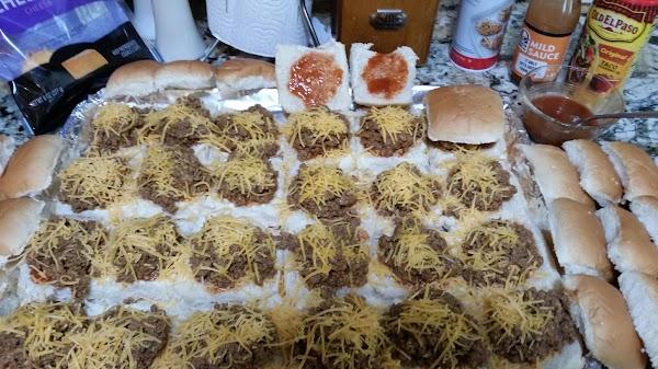 Baked Taco Burgers Sliders Recipe