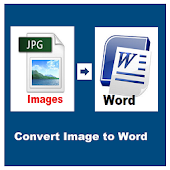 Image To Word, Text - Convert