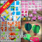 DIY Paper Craft Ideas Icon