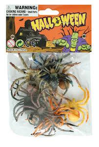 Färgade spindlar, 12 st