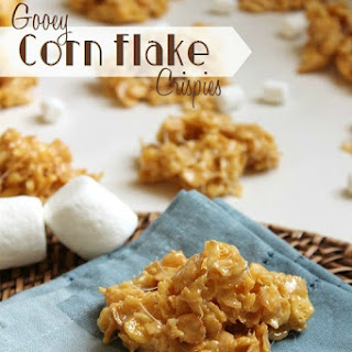 Gooey Corn Flake Crispies.