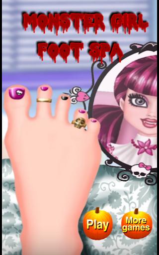 Monster Girl Foot Spa