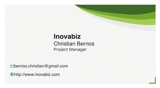 BusinessCard of Christian Berrios