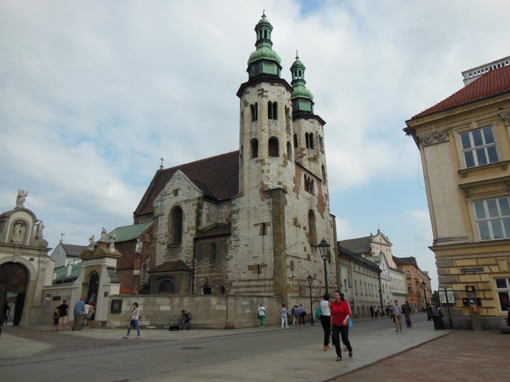 ¿Qué ver en Cracovia en 2 o 3 días? Iglesia de San Andrés de Cracovia.