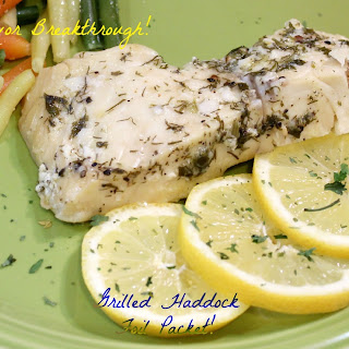 Grilled Haddock Foil Packet!.