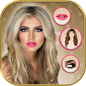 Hairstyle & Makeup Beauty Salon with Photo Effects