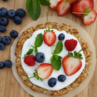 Breakfast or Dessert Pizza-Cookie