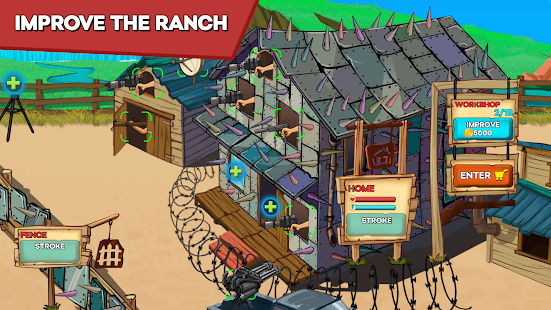 Zombie Ranch - Battle with the zombie apk