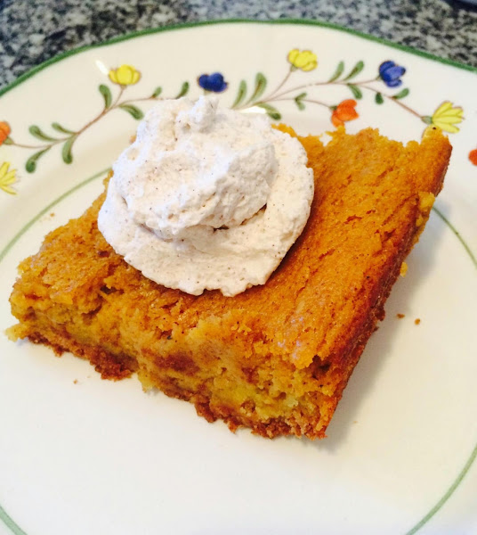 Pumpkin Gooey Butter Cake Recipe