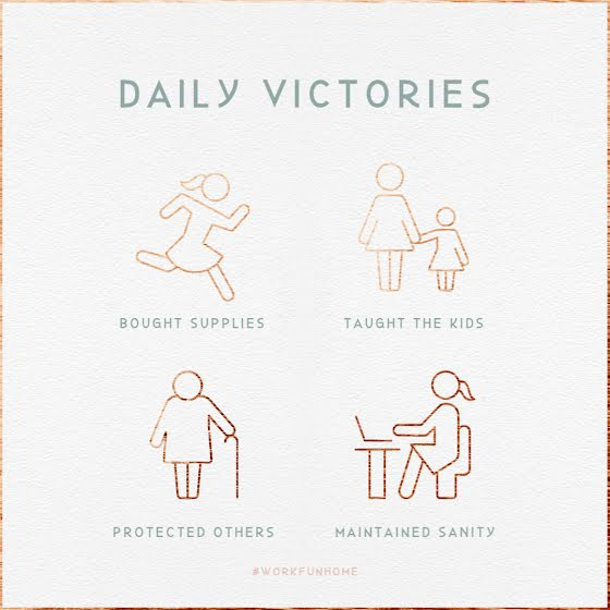 Daily Victories - Instagram Post Template
