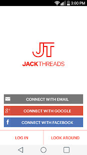 JackThreads: Shopping for Guys- screenshot thumbnail
