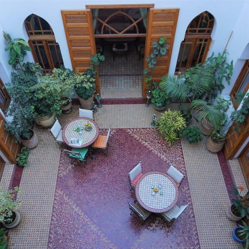 モロッコの首都・ラバトのメディナにあるおしゃれな隠れ家「リヤド・ダル・カリマ」