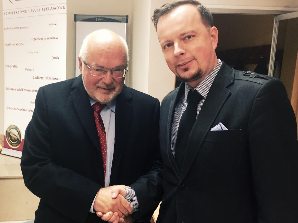 Krzysztof Pawłowski i Sebastian Margalski