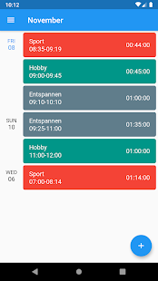 Download Zeitmanager For PC Windows and Mac apk screenshot 1