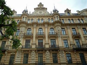 Photo: The entire street is Art Nouveau.