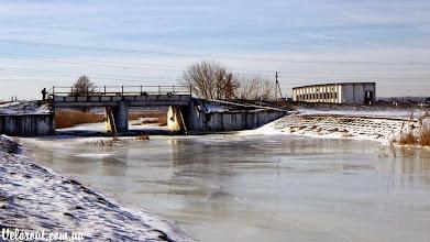 Photo: Дамба Ирпень зимой