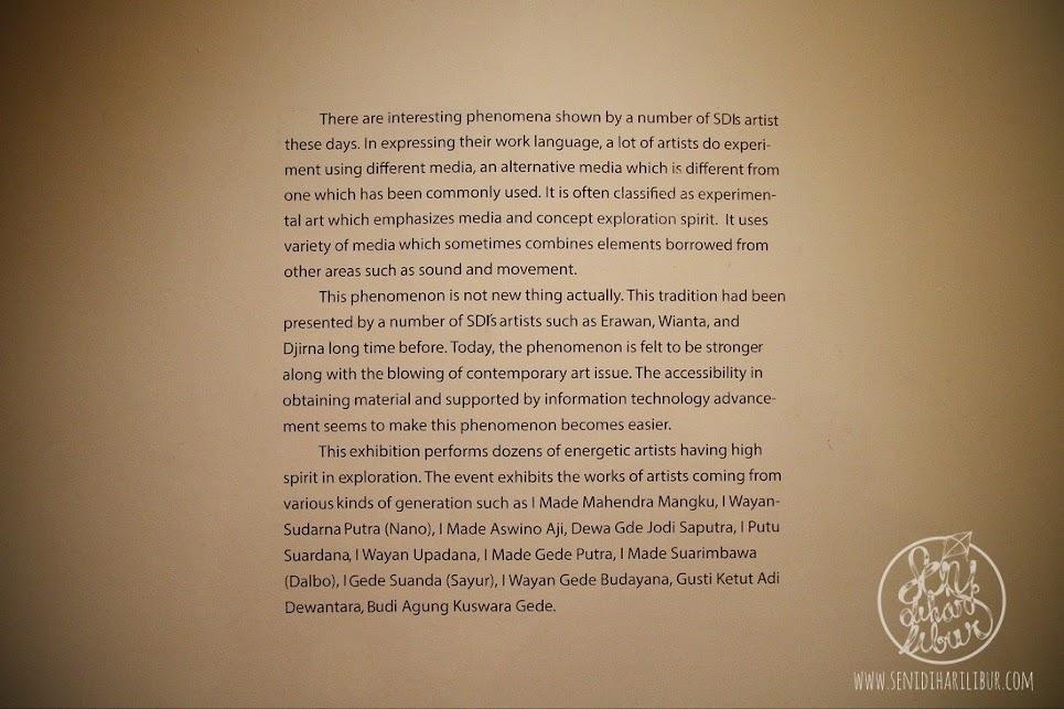 Genetik oleh Sanggar Dewata Indonesia di Arma Museum