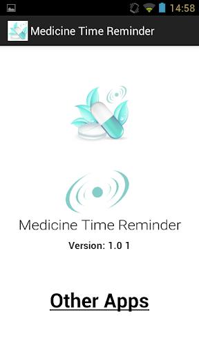 Medication Time Reminder Alert