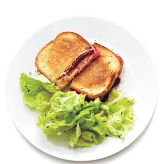 Beet, Sauerkraut, and Swiss Reuben Sandwiches.