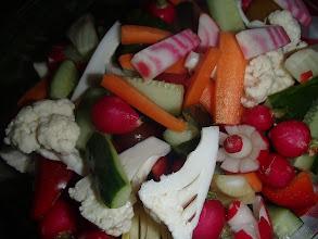 Photo: Dips de légumes et sauces à tremper