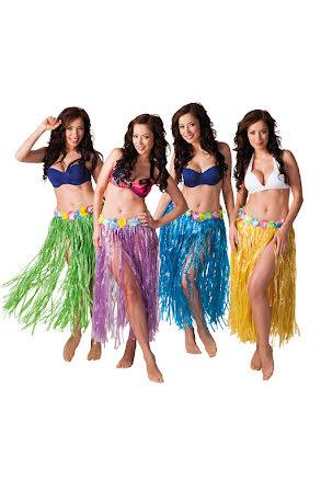 Hawaiikjol, 4 färger 80cm