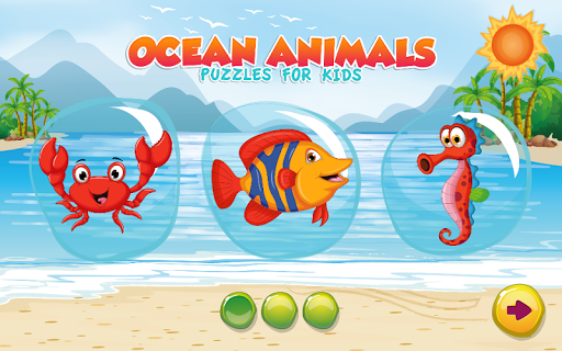 Puzzles for kids Ocean Animals  screenshots 1