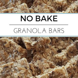 No Bake Granola Bars.