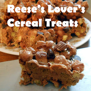 Reese's Lovers Cereal Treats