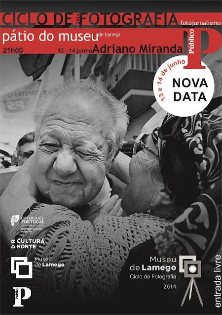 Fotojornalistas do Jornal Público no Ciclo de Fotografia do Museu de Lamego
