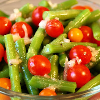 Green Bean Tomato Salad With Dijon Mustard Vinaigrette