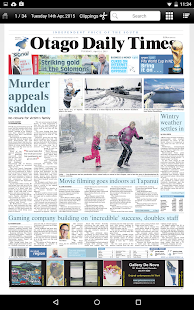 Otago Daily Times- screenshot thumbnail