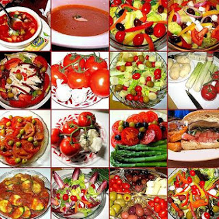 Fruit Gazpacho Salad.