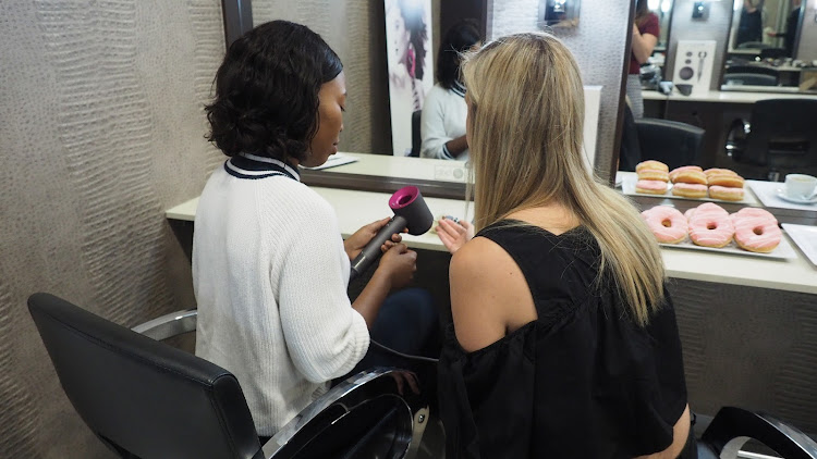 Beauty editor Nokubonga Thusi put's the Dyson Supersonic hairdryer to the test