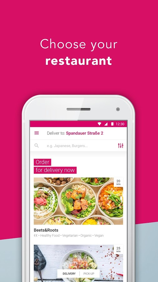 foodora - Local Food Delivery- screenshot