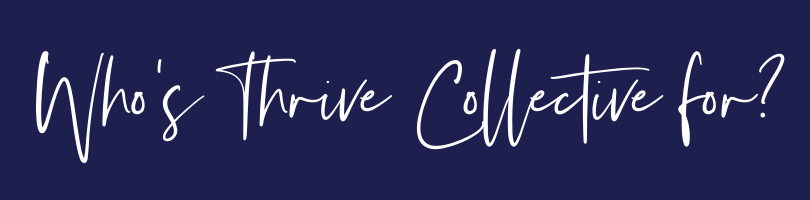 who is thrive collective for
