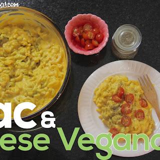 Oil & Gluten Free Vegan Mac & Cheese.