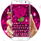 Rosado Rose Teclado icon