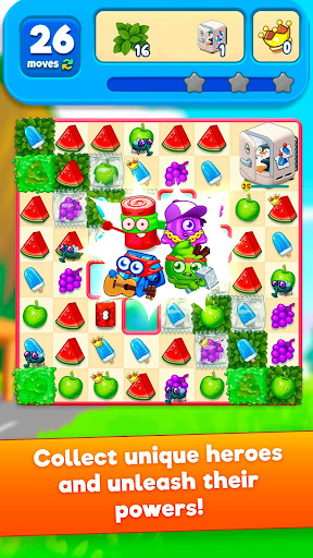 Sugar Heroes - World match 3 game! screenshots 2