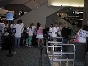 Photo: Waiting at the Tampa airport